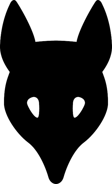 390x640 Head, Outline, Symbol, Silhouette, Face, Cartoon, Deer