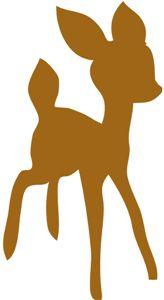 164x300 Bambi Silhouette