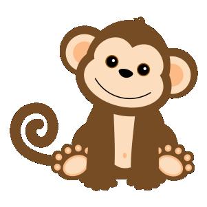 301x301 Macaco Desenho Colorido