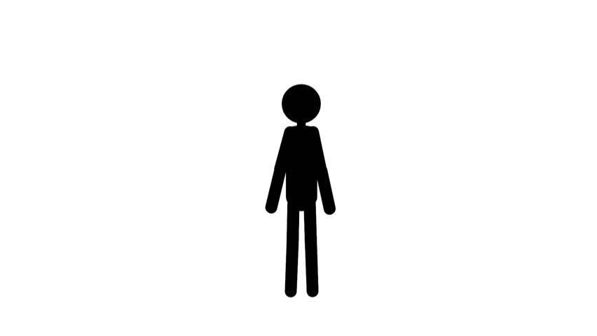 852x480 Pictogram Woman Go, Silhouette Of A Woman, Woman , Woman Going