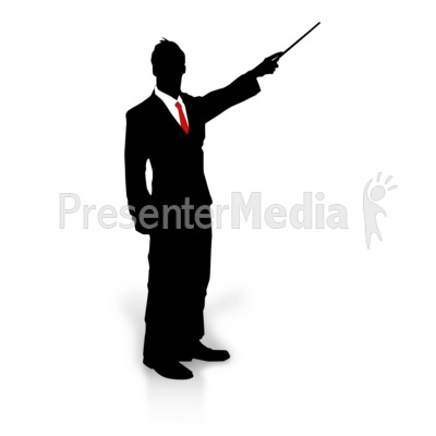 400x400 Businessman Silhouette Point