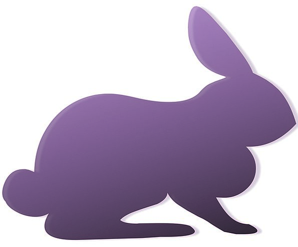 595x493 Rabbit, Bunny, Outline, Cartoon, Animation, Silhouette, Clipart