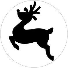 236x236 Printable Christmas Templates, Shapes And Silhouettes Santa'S