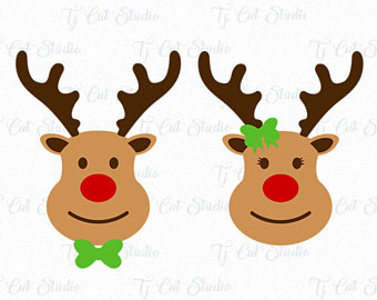 340x270 Reindeer Silhouette Etsy