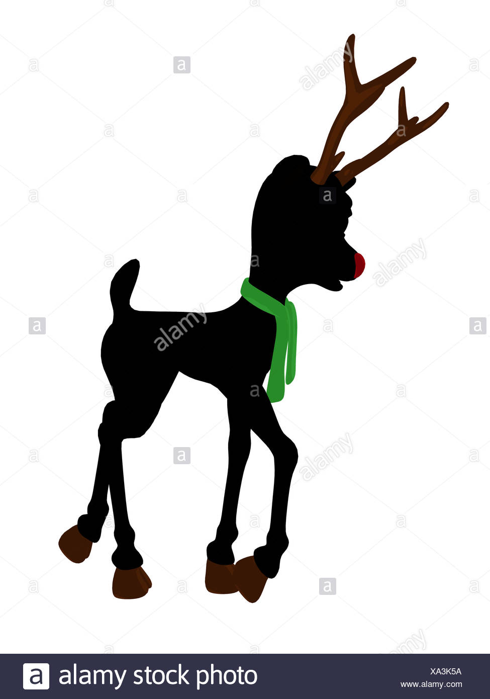 975x1390 Rudolph Red Nosed Reindeer Illustration Stock Photos Amp Rudolph Red