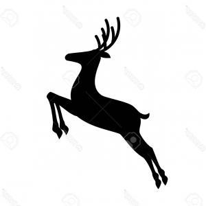 300x300 Cute Cartoon Deer Running Jumping Happy Lazttweet