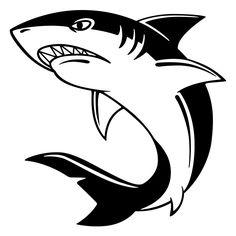 236x236 Free Cartoon Shark Clipart, Shark Outline And Shark Silhouette