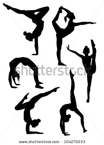 338x470 Gymnastics Cartoon Clip Art Free Vector Download Vector