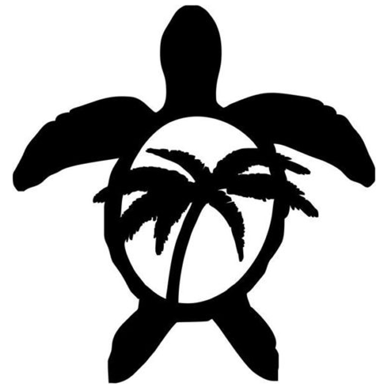 Cartoon Turtle Silhouette