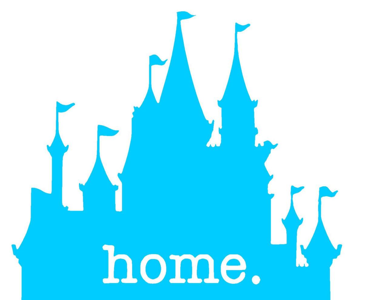 1280x989 Disneyland Clipart Blue Castle