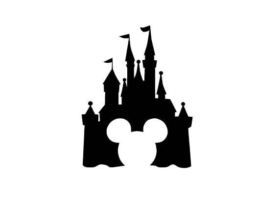 570x428 Mickey Mouse Castle Svg Disney Svg Magic Kingdom Svg Mickey