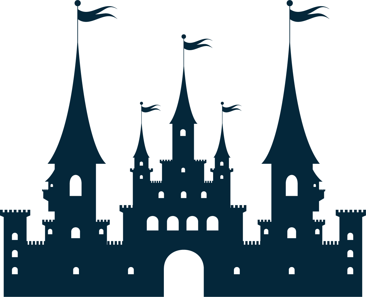 Castle Silhouette At Getdrawings Com Free For Personal