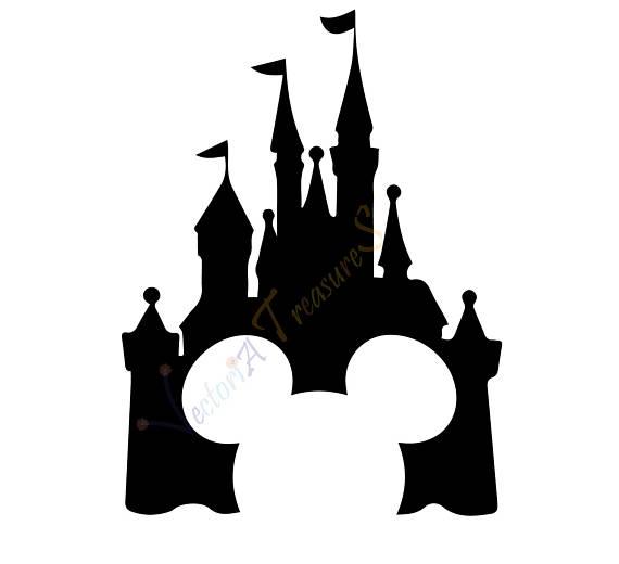 570x520 Disney Castle Svg, Disney Castle Silhouette, Disney Png, Disney