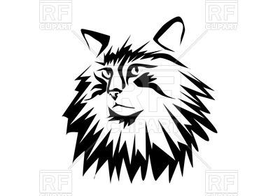 400x280 Portrait Of Norwegian Forest Cat
