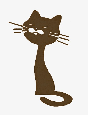 336x436 Cartoon Cat, Cat Silhouette, Cute Cat Png Image And Clipart