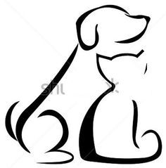236x239 Cat And Dog Silhouette Clip Art