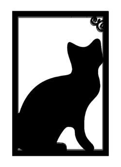249x342 Silhouette Template 3d