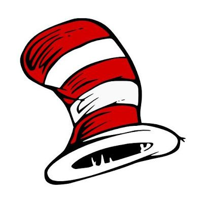 396x400 Cat In The Hat Head Clipart Collection