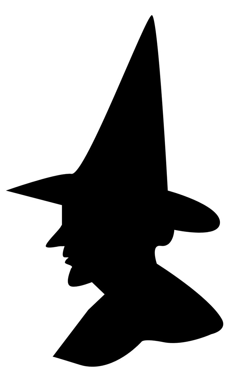 736x1210 Black Cat Clipart Witch Silhouette