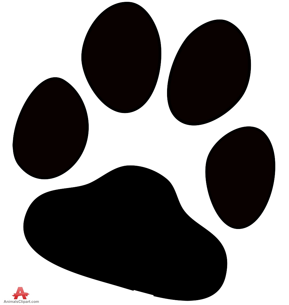 cat paw silhouette at getdrawings com free for personal use cat rh getdrawings com dog paw print vector artwork dog paw print vector art free