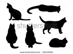 Cat Profile Silhouette
