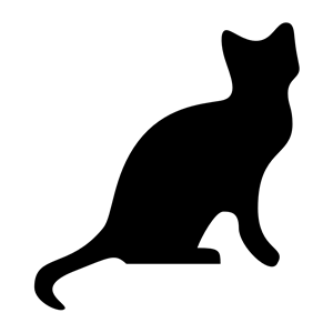 300x300 Cat Silhouette Clipart, Cliparts Of Cat Silhouette Free Download