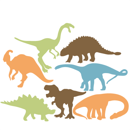 432x432 Dinosaur Silhouette Clipart With No Background Collection