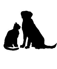 239x288 And Cat Silhouettes Clipart