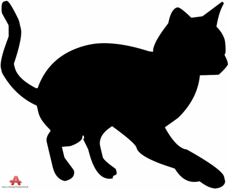 728x602 Bengal Ideal Cat Silhouette Clip Art Photograph