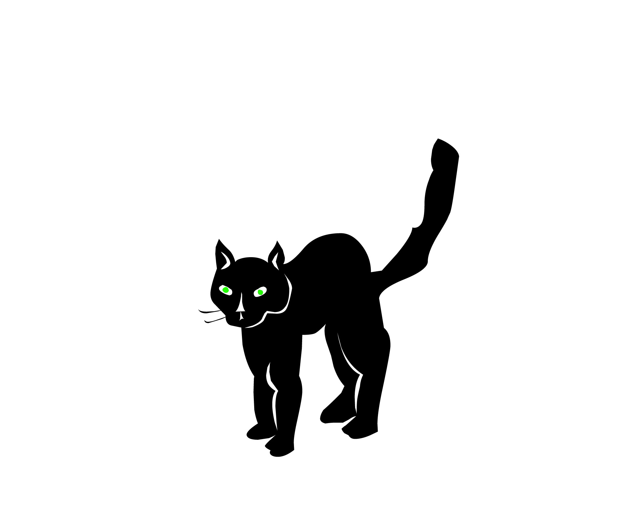 1991x1674 Shaow Clipart Black Cat 3894776