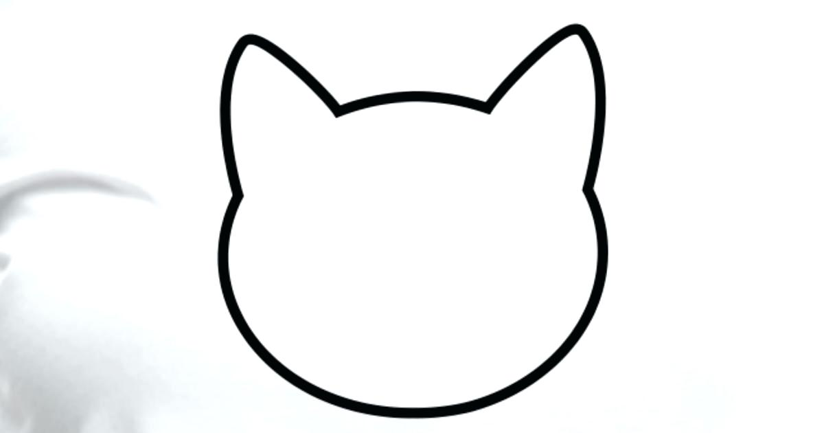1200x630 Cat Silhouette Outline Cat Silhouette Outline Cat And Dog Outline