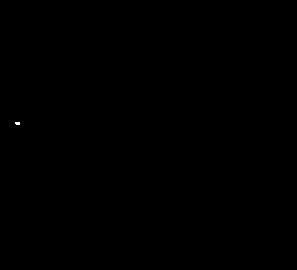 297x270 White Cat Outline Clip Art