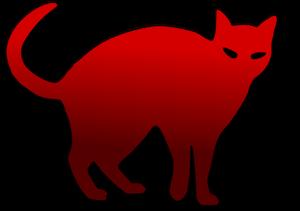300x211 21470 Black Cat Silhouette Clip Art Free Public Domain Vectors