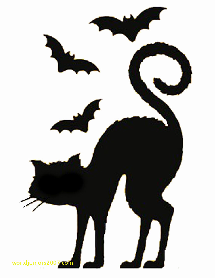 727x942 Top Result Lovely Black Cat Templates For Halloween Gallery 2017