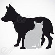 180x180 Dog Cat Clip Art, Free Vector Dog Cat
