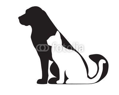 400x319 Dog Cat Vector