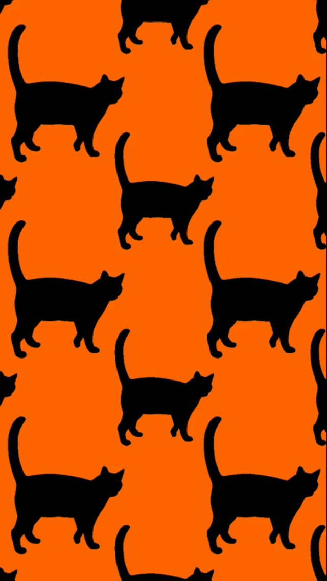 Cat Silhouette Wallpaper