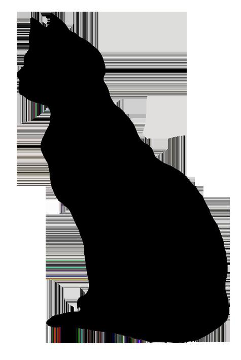 475x709 Cat Silhouette Clipart