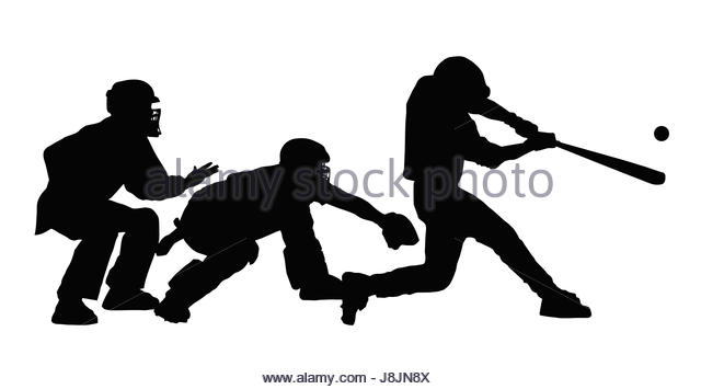 640x355 Catcher And Umpire Cut Out Stock Images Amp Pictures