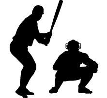 221x203 Image Result For Baseball Catcher Silhouette Baseball Booth