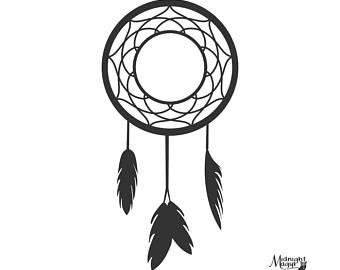 340x270 Native American Svg, Dream Catcher Svg, Cricut, Boho Template
