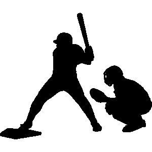 300x300 Baseball Catcher Clipart
