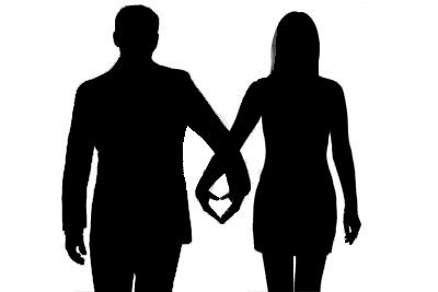 400x267 Couple Silhouette Ideas Couple Silhouette