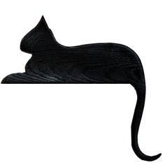 236x236 Vector Image Of Silhouette Of Cat Coming Down Public Domain
