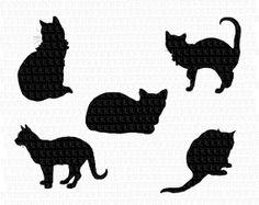 236x187 Cat Silhouette Clip Art Clip Art Stock Photos, Illustrations