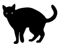 236x177 Black Cat Silhouette Autumnhalloween Black Cat