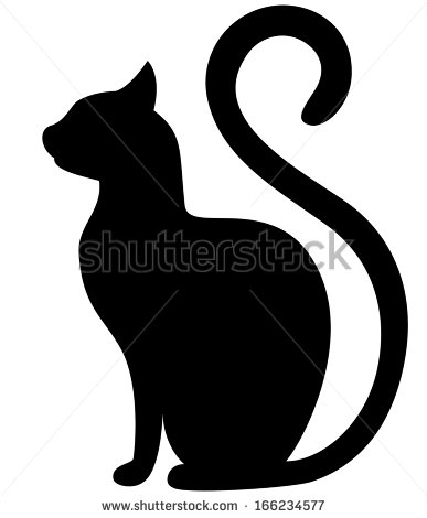 387x470 Pin By On Black Cat Silhouette