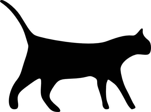 600x445 Cat Icons Clip Art Free Vector 4vector