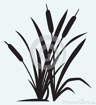 400x437 Cattail Template Summer Template And Patterns
