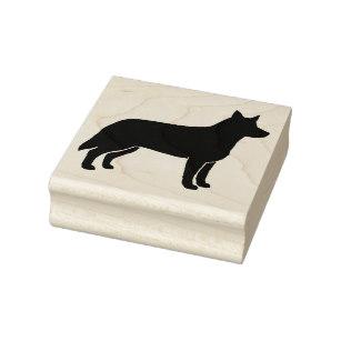307x307 Australian Cattle Dog Silhouette Gifts On Zazzle
